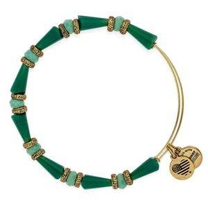 Alex and Ani Green Harmony Pasture Bracelet
